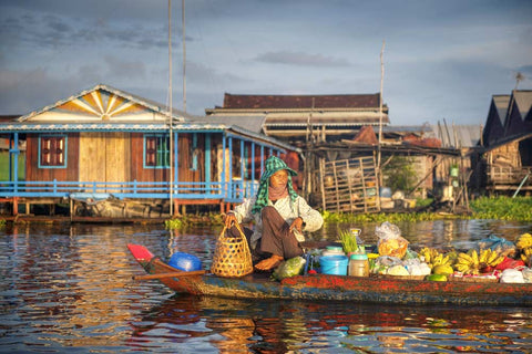 Travelbay Cambodia Tours - Siem Reap Day Tours - Floating village, Siem Reap