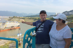 Travelbay China Reviews - Ray & Rose Schmidt. Yangtze River cruise