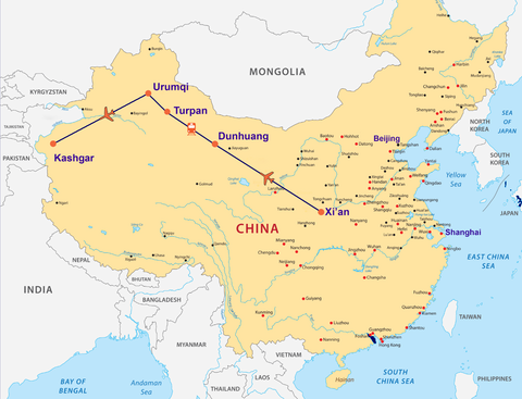 Travelbay China Tours - 12 Days on the Silk Road