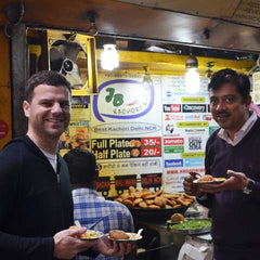 Travelbay Customer Photos Delhi-snacking-with-our-guide
