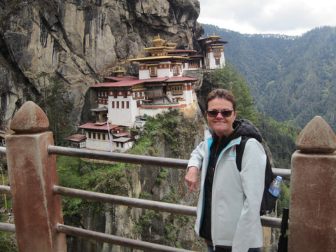Travelbay Customer Reviews - Bhutan Tours - Cheryl White - Tiger's Nest Monastery
