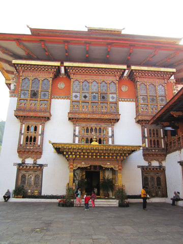 Travelbay Customer Reviews - Bhutan Tours - Cheryl White - Punakha