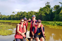 Travelbay Customer Reviews - Borneo Tours - Gunson family