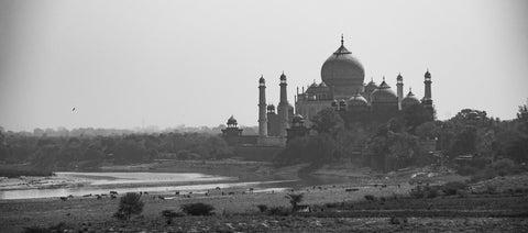 Travelbay Customer Reviews - India Tours - View of Taj Mahal from Agra Fort