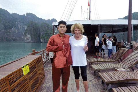 Travelbay Customer Reviews - Marion Raftery in Ha Long Bay, Vietnam