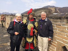 Travelbay Customer Review - Neville & Lyn Pollard in China
