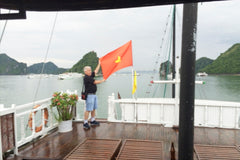 Travelbay Customer Reviews - Neville Pollard in Vietnam - Ha Long Bay