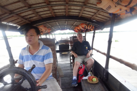 Travelbay Customer Reviews - Neville Pollard in Vietnam - Mekong Delta