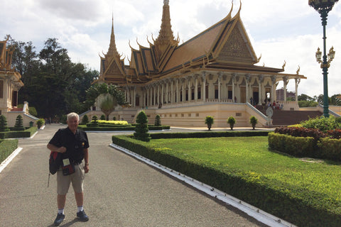 Travelbay Customer Reviews - Neville Pollard in Vietnam - Phnom Penh