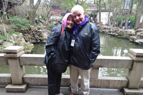 Travelbay Customer Reviews - Neville and Lyn Pollard in China