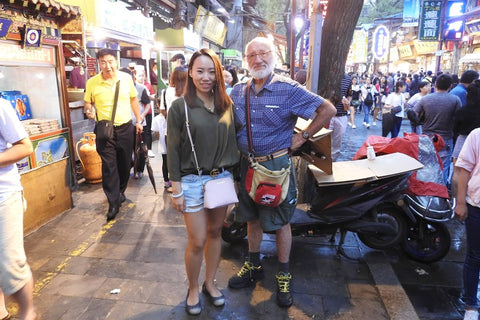 Travelbay Customer Reviews - Ray Renfrey in China