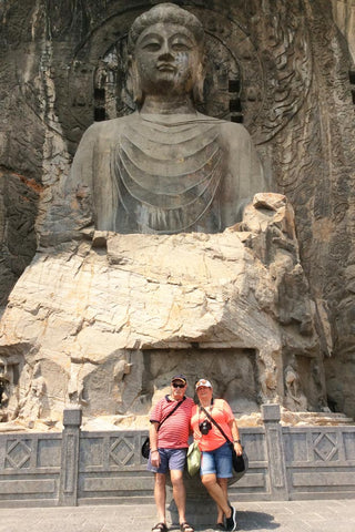 Travelbay Customer Reviews - Ray & Rose Schmidt in China - Longmen Grottoes 2