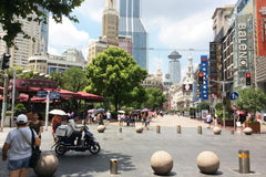 Travelbay Customer Reviews - Ray & Rose Schmidt in China - Shanghai, Nanjing Rd