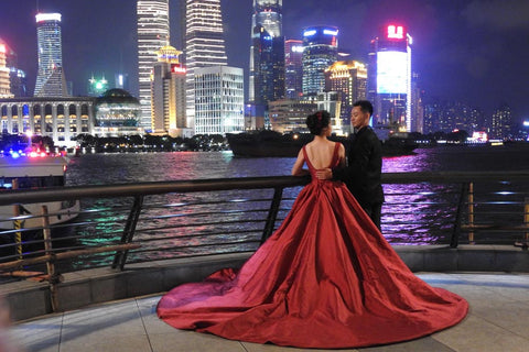 Travelbay Customer Reviews - Ray & Rose Schmidt in China - Shanghai at night 2
