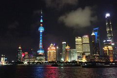 Travelbay Customer Reviews - Ray & Rose Schmidt in China - Shanghai at night