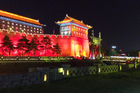 Travelbay Customer Reviews - Ray & Rose Schmidt in China - Xian - City Wall