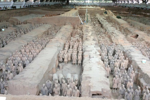 Travelbay Customer Reviews - Ray & Rose Schmidt in China - Xian - Terracotta Warriors