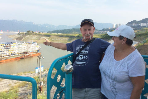 Travelbay Customer Reviews - Ray & Rose Schmidt in China - Yangtze RIver Cruise 1