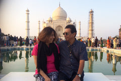 Travelbay India Reviews - Brenda Parasuraman, Taj Mahal, India