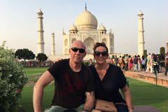 Travelbay India Reviews - Kristen Jury, Taj Mahal, India