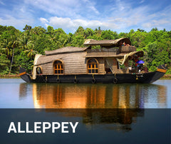 Travelbay India Tailor Made Tours - Alleppey - Houseboat