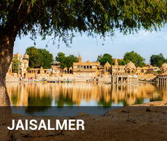 Travelbay India Tailor Made Tours - Jaisalmer -river view