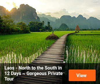 Travelbay Laos Tours - North to the South in 12 Days - Private Tour
