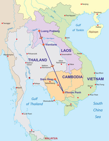 Travelbay Laos and Cambodia Tours - 12 Days of Marvels & Magnificence Private Tour