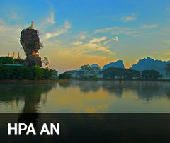 Travelbay Myanmar Tailor Made Tours - Hpa An - river view