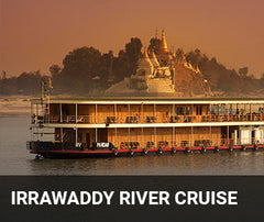 Travelbay Myanmar Tailor Made Tours - Irrawaddy River Cruise - boat cruise