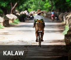 Travelbay Myanmar Tailor Made Tours - Kalaw, person on bike
