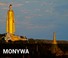Travelbay Myanmar Tailor Made Tours - Monywa - statues