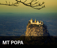 Travelbay Myanmar Tailor Made Tours - Mt Popa - Volcano