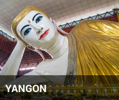 Travelbay Myanmar Tailor Made Tours - Yangon - Reclining Buddha