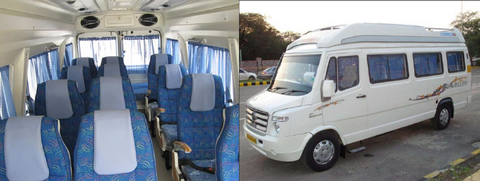 Travelbay Private tours - India - Tempo Traveller