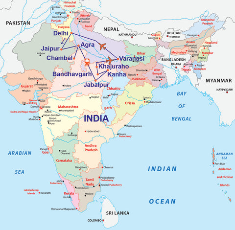 Travelbay Private tours to India - 15 Day
