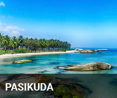Travelbay Sri Lanka Tailor Made Tours - Pasikuda - beach view
