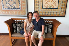 Travelbay Tailor Made Tours Reviews - Richard & Katie in Negombo, Sri Lanka