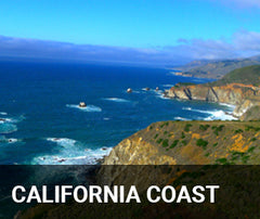 Travelbay USA Tailor Made Tours - California Coast - Coastal view