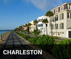 Travelbay USA Tailor Made Tours - Charleston - residential street