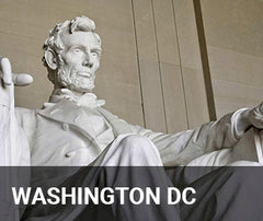 Travelbay USA Tailor Made Tours - Washington DC, Abraham Lincoln Statue
