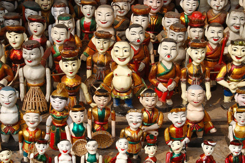 Travelbay Vietnam - Day Tours - Water puppets