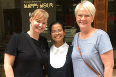 Travelbay Vietnam Reviews - Chantelle King with Nga in Hanoi