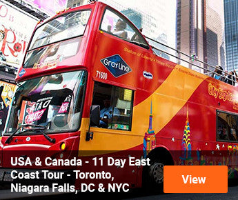 Travelbay USA & Canada - 11 Day East Coast - Toronto, Niagara Falls, Washington DC & New York