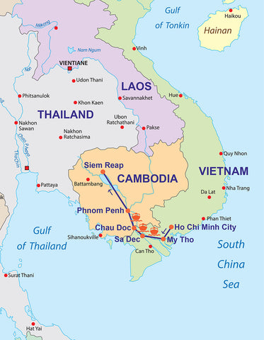 Travelbay Vietnam & Cambodia - 10 Day tour with cruise