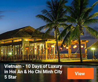 Travelbay Vietnam - 10 Days of Luxury in Hoi An and Ho Chi Minh City - 5 Star