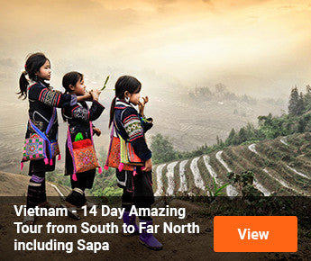 Travelbay Vietnam – 14 Day Amazing Tour from South to far North including Sapa
