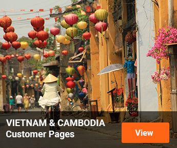 Travelbay Vietnam & Cambodia Customer Pages