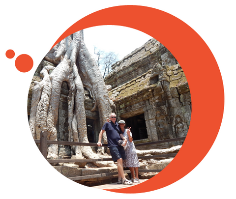 Travelbay Cambodia Tours - Customer photo - Ta Prohm, Angkor Wat
