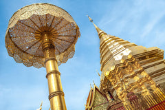 Travelbay South East Asia - 21 Days in Thailand, Laos, Cambodia and Vietnam - Wat Phra Doi Suthep, Chaing Mai